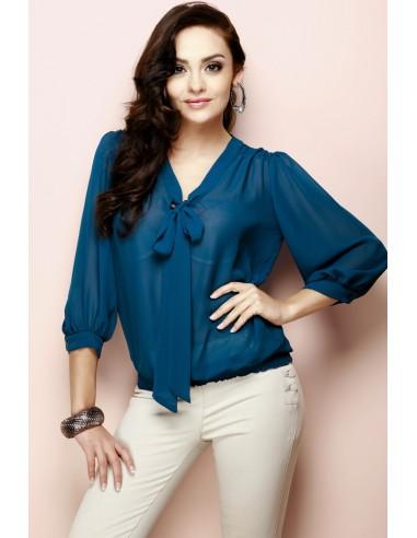 FIGL - ženska bluzica z mašnjo M072